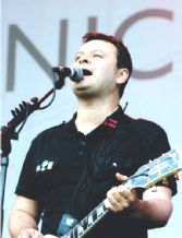 James Dean Bradfield Signed Autograph Photo - Manic Street Preachers